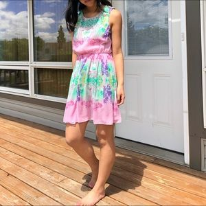 View by Walter Baker NWT pastel floral dress 6